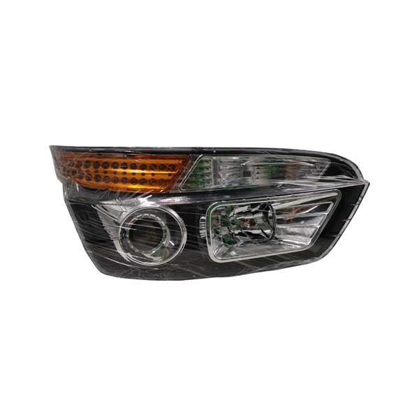 Kinglong bus spare parts XMQ6129 headlamp